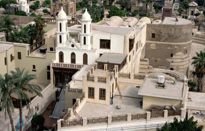 Iglesia Colgante en el Cairo