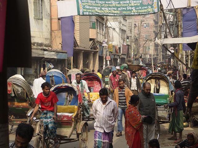 Ciudad vieja de Dhaka