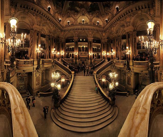 Interior Ópera de Garnier