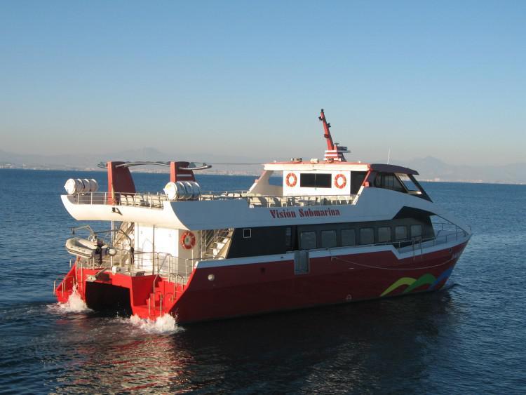 Barco Alicante-Tabarca